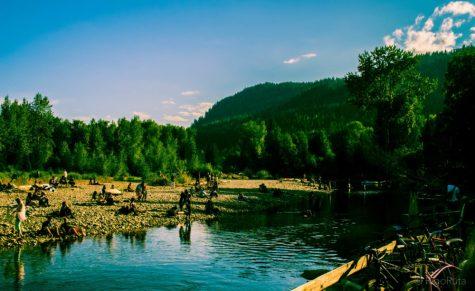 Camp Shambhala; just relax.
