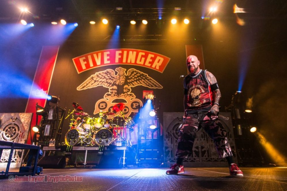 Ivan L. Moody of Five Finger Death Punch @ Abbotsford Centre - September 9th 2016