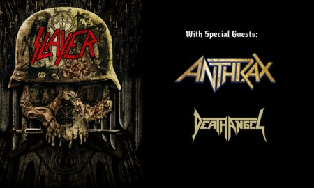 slayer anthrax death angel 2016 abbotsford centre