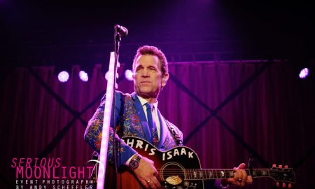 Chris Isaak @ PNE Amphitheatre © Andy Scheffler
