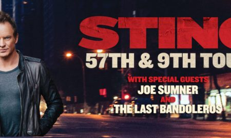 sting 2016 -57th and 9th tour