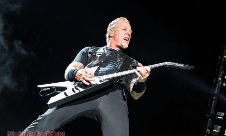 James Hetfield of Metallica @ BC Place - August 14th 2017