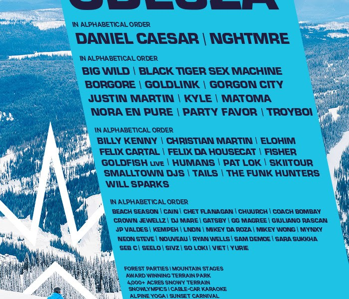 Festivals snowbombing 2018 at sun peaks resort kamloops festivals snowbombing 2018 at sun peaks resort kamloops concert addicts malvernweather Image collections