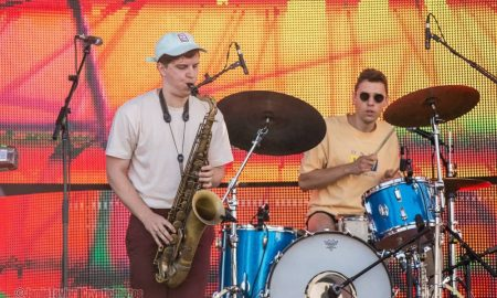 BADBADNOTGOOD at Fvded in the Park in Holland Park in Surrey, BC in July 2017