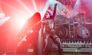Arch Enemy at the Vogue Theatre in Vancouver, BC on November 23rd 2017