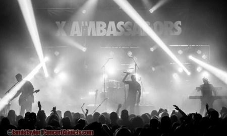 X Ambassadors 2015 vogue theatre concert vancouver bc