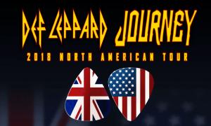 Def Leppard + Journey 2018 tour