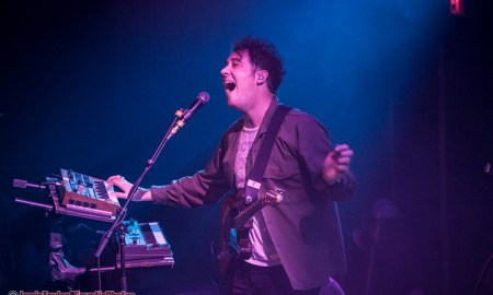 Matthew Murphy of The Wombats at Venue Nightclub in Vancouver, BC on January 30th 2018