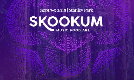 Skookum Festival 2018 header poster banner ad