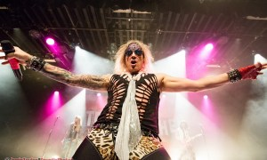 Michael Starr of Steel Panther at the commodore ballroom in Vancouver, BC on March 15th, 2018