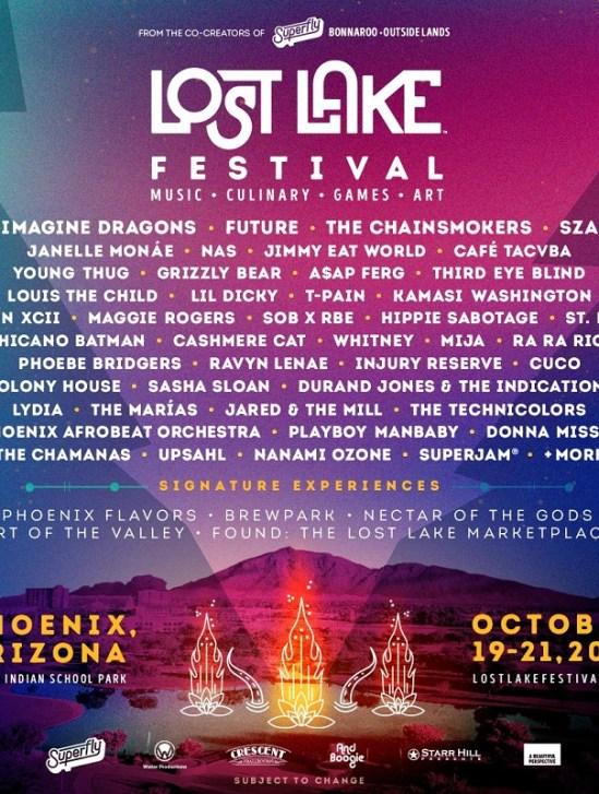 Lost Lake Festival 2018 at Steele Indian School Park (Phoenix, AZ) - October 19-21 2018
