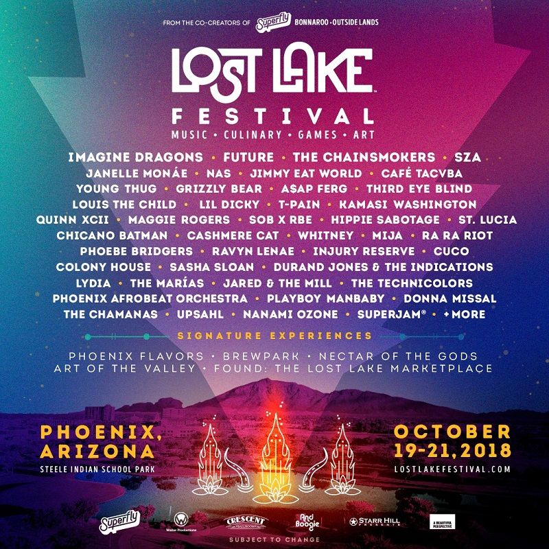 Lost Lake Festival 2018 at Steele Indian School Park (Phoenix, AZ) - October 19-21 2018