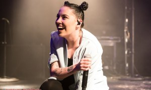 Photo of Bishop Briggs performing at The Commodore Ballroom in Vancouver, BC on April 27th 2018