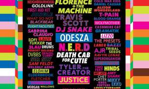 Life Is Beautiful Festival 2018 in Downtown Las Vegas, lineup poster admat