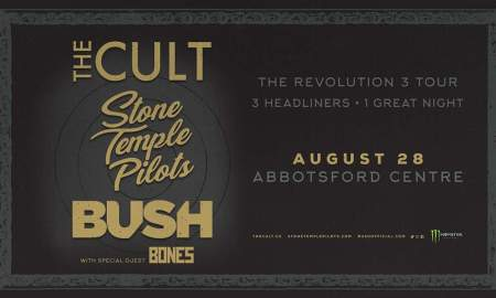 The Revolution 3 tour with the Cult, stone temple pilots, and bush, 2018 tour