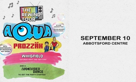 The Rewind Tour ft. Aqua + Prozzäk + Whigfield + a Much Video Dance Party