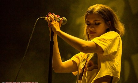 Tove Styrke performing at Rogers Arena in Vancouver, BC on March 8th, 2018. Opening for Lorde.