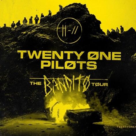 "Twenty One Pilots Announce ""The Bandito Tour"" 2018"