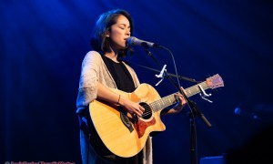 Kina Grannis performing at The Commodore Ballroom in Vancouver, BC on July 17th, 2018