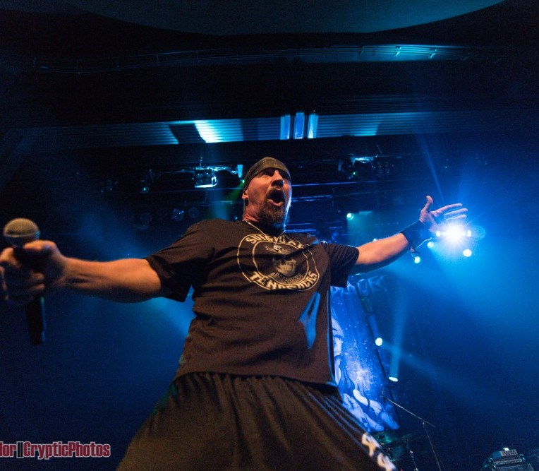 Mike Muir of Suicidal Tendencies performing at The Vogue Theatre in Vancouver, BC on July 17th 2018