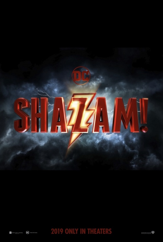 Shazam! [2019] movie poster - release april 5 2019