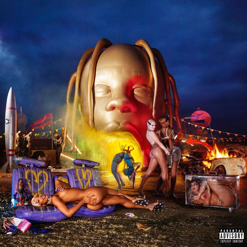 "Travis Scott  New Album ""Astroworld"" 2018 cover"