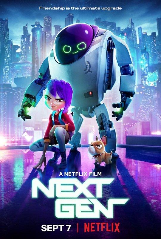 Next Gen [2018] movie poster - release date: September 7 2018