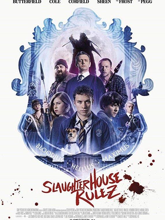 Slaughterhouse Rulez [2018] - Release date - october 31 2018