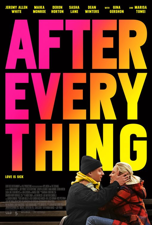 After Everything [2018] movie poster - release date: october 12 2018