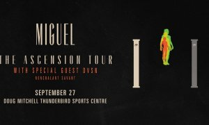 Win Tickets to Miguel at Doug Mitchell Thunderbird Sports Center 2018