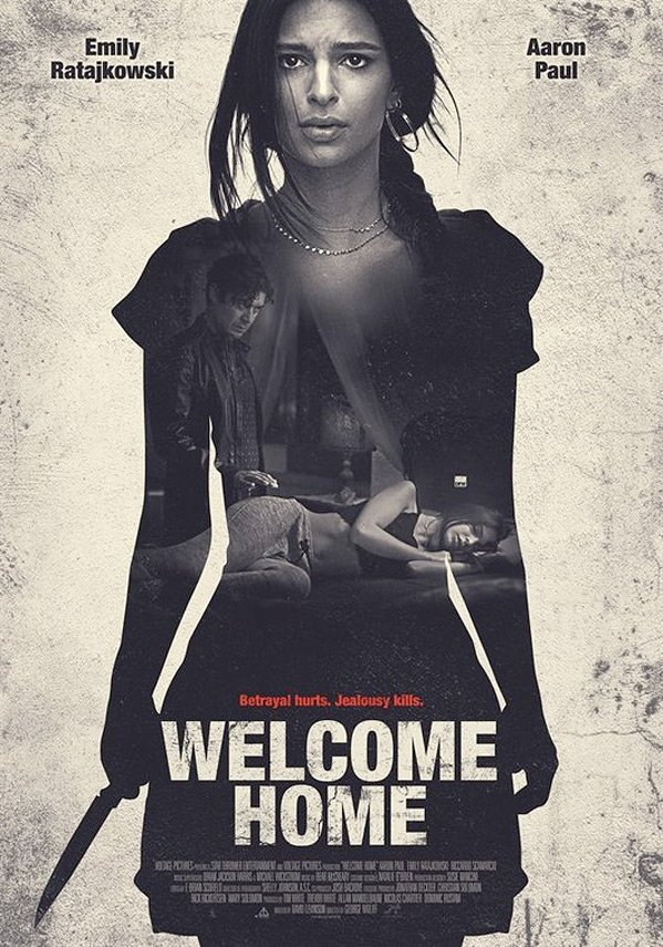 Official movie poster for Welcome Home [2018]