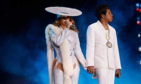 Musicians JAY-Z and Beyoncé performing at BC Place Stadium in Vancouver, BC on October 2nd 2018 - Photo by Raven Varona/Parkwood/PictureGroup