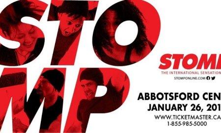 STOMP at Abbotsford Centre - January 26th, 2019