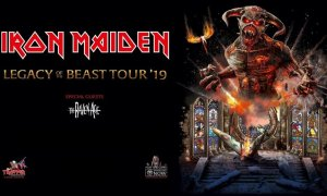 """""""Legacy of the Beast Tour"""" ft. Iron Maiden + The Raven Age at Rogers Arena"""