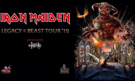 """Legacy of the Beast Tour"" ft. Iron Maiden + The Raven Age at Rogers Arena"