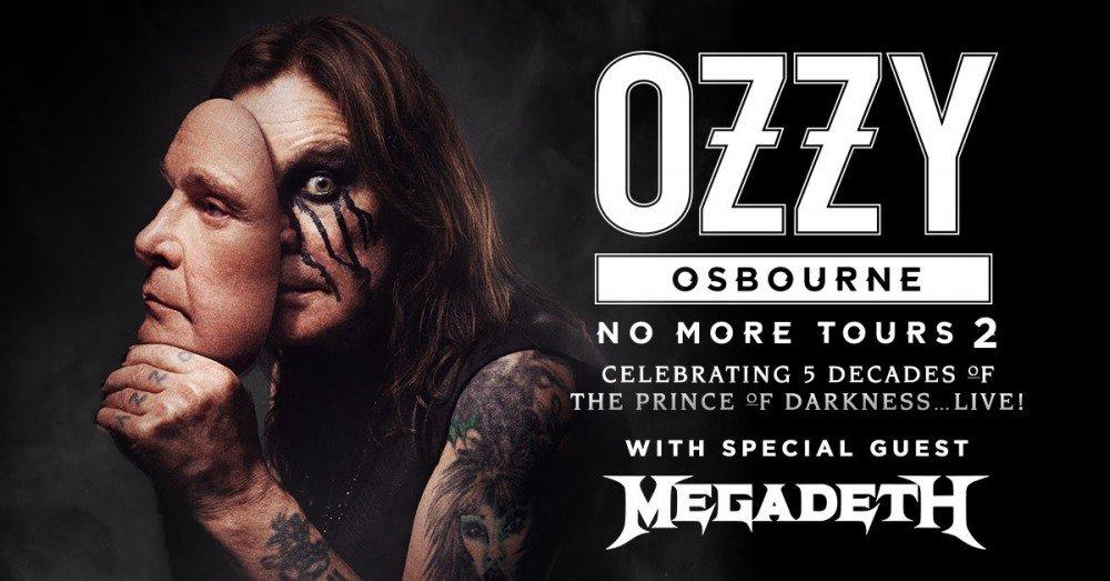 "Ozzy Osbourne Announces ""No More Tours 2"" With Megadeath"