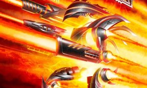 judas priest Firepower, album cover 2019