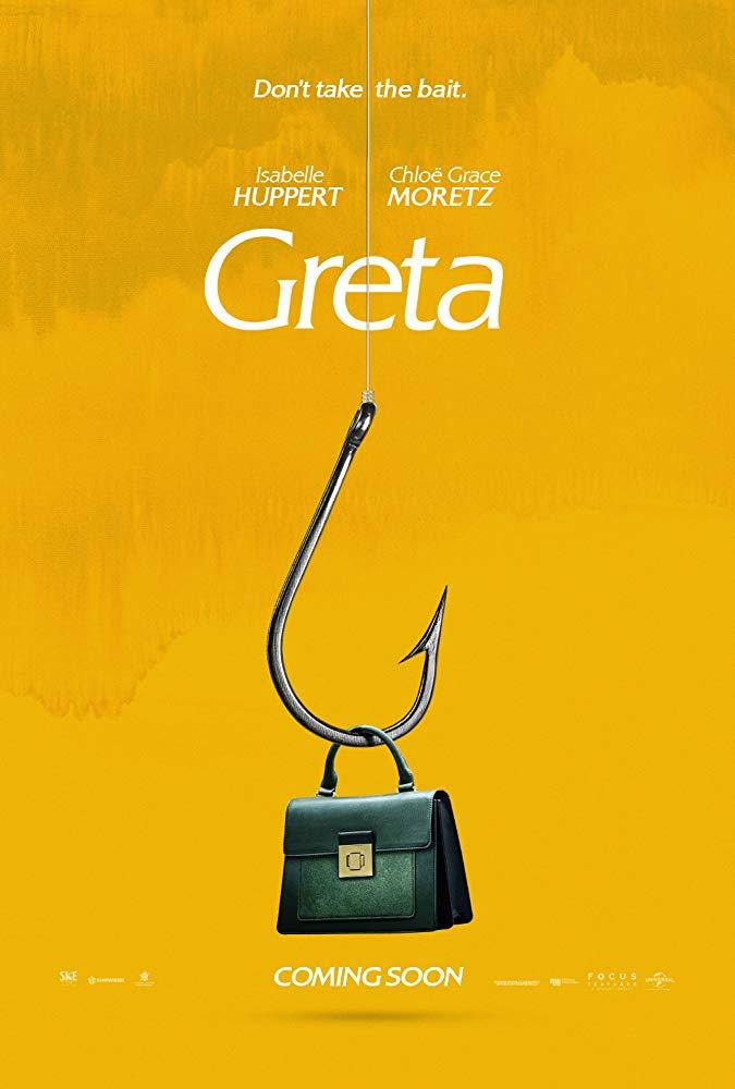 Greta [2019] - Official poster