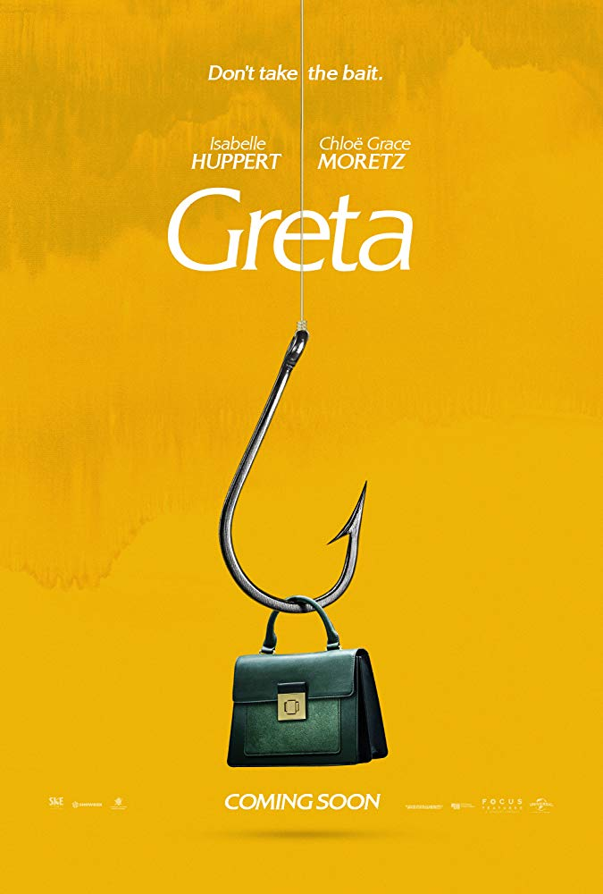 Greta [2019] - Official poster