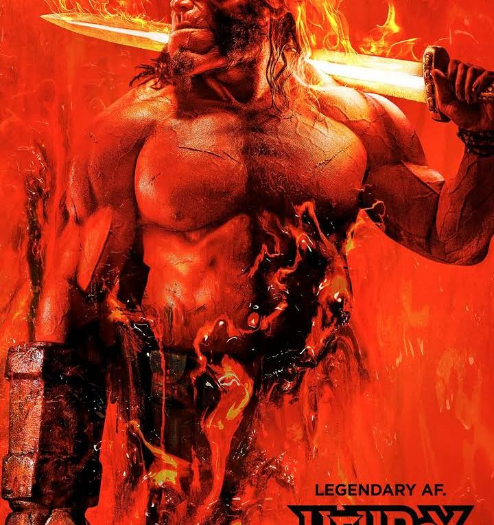 Hellboy [2019] - Official poster