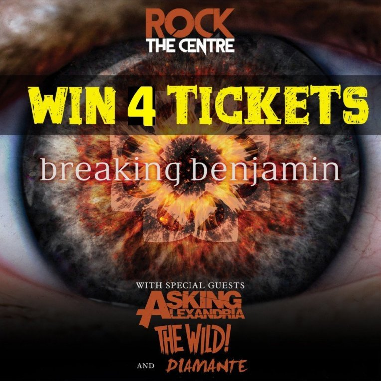2019 Win Tickets to Breaking Benjamin at Abbotsford Centre