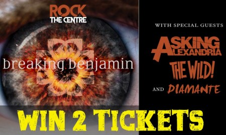 Beat The Box Office: Win Tickets to Breaking Benjamin at Abbotsford Centre