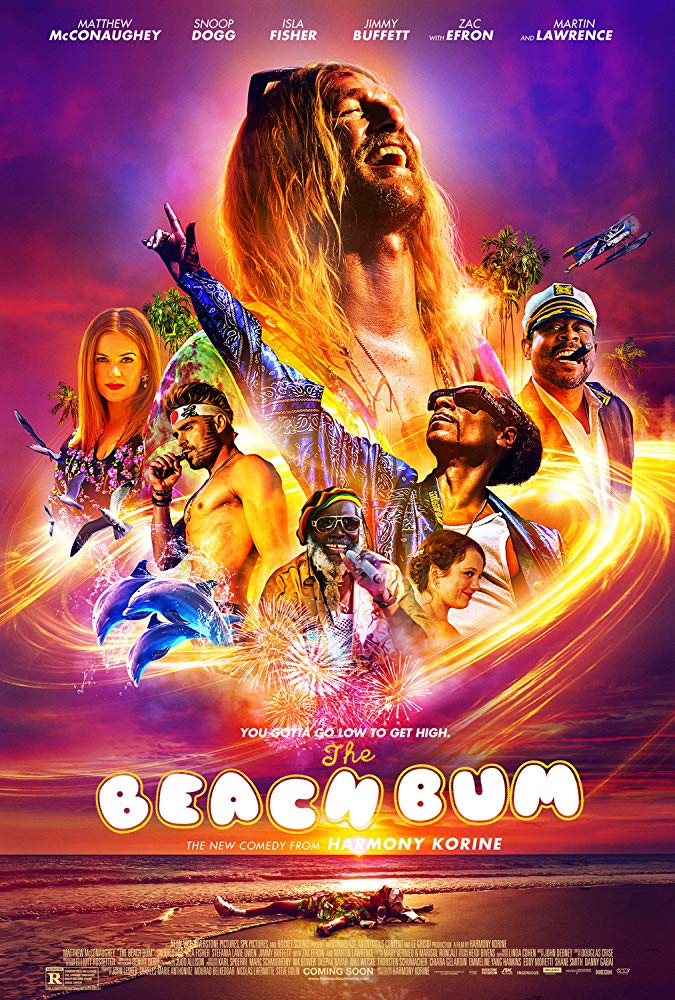 The Beach Bum [2019] official poster cover