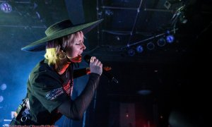 Danish singer MØ performing at The Commodore Ballroom in Vancouver, BC on January 30th, 2019.