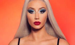 Iggy Azalea 2019 makeup by James Charles