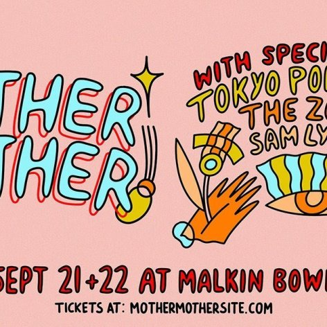 Mother Mother + Tokyo Police Club + The Zolas + Sam Lynch at Malkin Bowl september 2019 vancouver