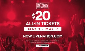 Live Nation Canada Announces 2019 National Concert Week
