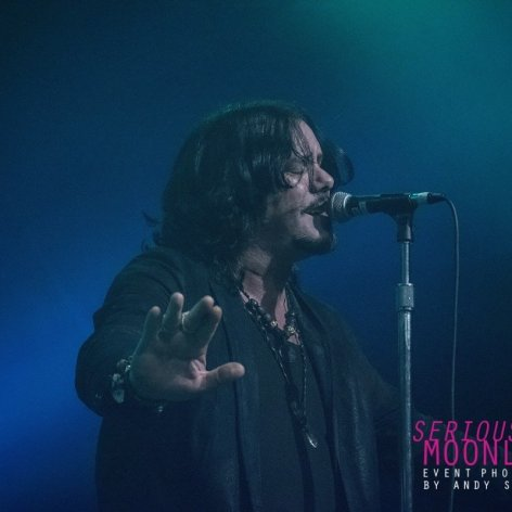 Musician Jeff Martin of Canadian rock band The Tea Party performing at The Commodore Ballroom in Vancouver, BC on May 10th, 2019