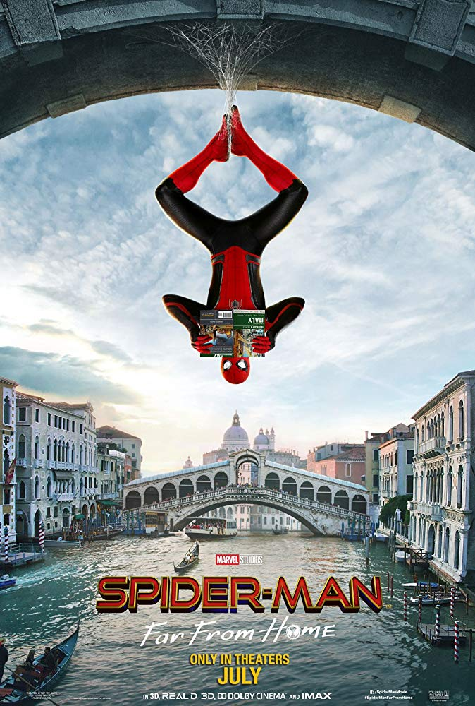 Spider-Man: Far From Home [2019] official poster admat banner