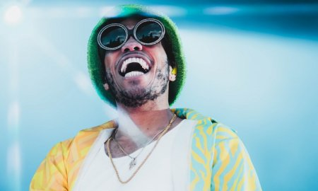 American rapper Anderson .Paak performing at PNE Amphitheatre in Vancouver, BC on June 19th 2019